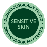 Tested on sensitive skin