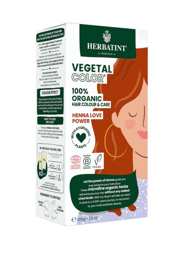 Herbatint vegetal color Henna