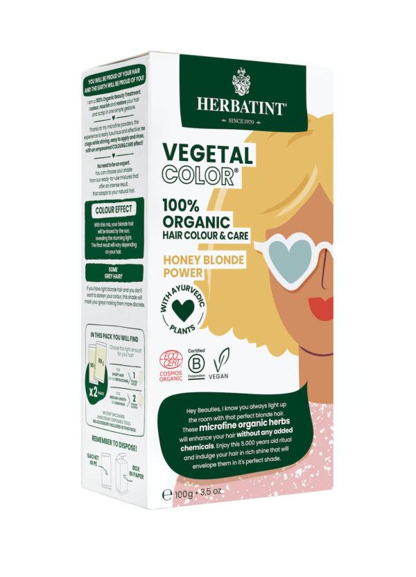 Herbatint vegetal color Honey blond