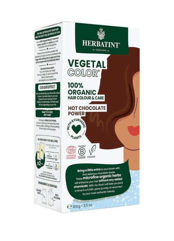 Herbatint Vegetal color Hot Chocolate