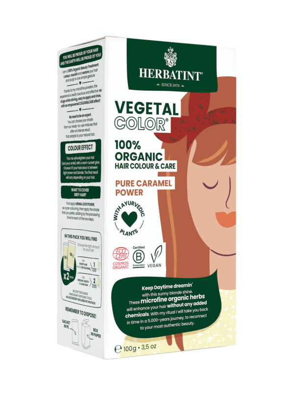 Herbatint vegetal color Pure Caramel