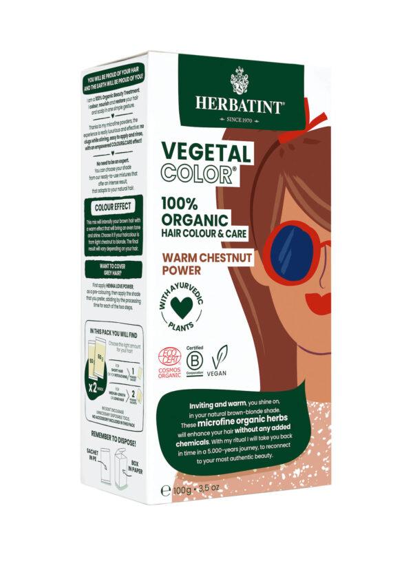 Herbatint vegetal color Warm Chestnut